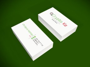 crypto business cards