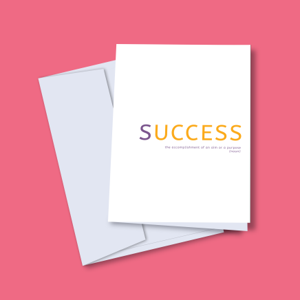 success cards